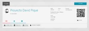 Proyecto ya creado en phonegap desktop