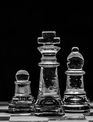 Figura de Rey de ajedrez. El contenido manda en el SEO