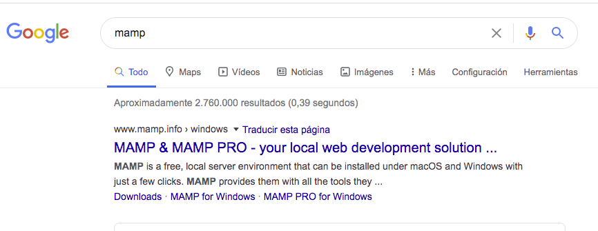 Descarga mamp para wordpress en mac