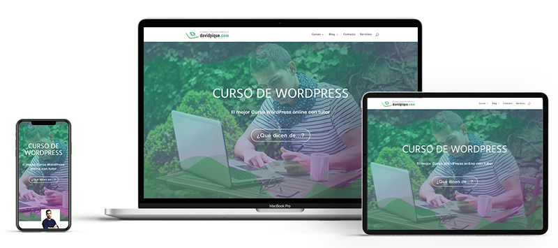 portada cursos wordpress