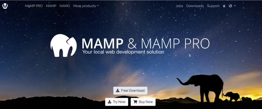 MAMP. La mejor opción para instalar wordpress mac