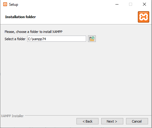 instalacion magento xampp en windows10